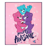 "Care Bears Sparkle & Shine Pretty Awesome36"" Panel Pink"