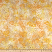 Banyan Batiks Sophie Colored Florals Yellow