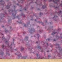 Banyan Batiks Shattered Garden Packed Mums White/Fuschia