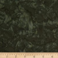 Northcott Banyan Batiks Shadows Dark Green