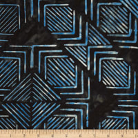 Northcott Banyan Batiks Tie One On Dark Navy