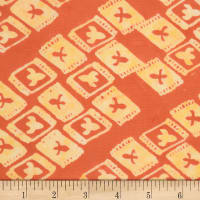 Northcott Banyan Batiks Tie One On Orange