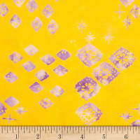 Northcott Banyan Batiks Tie One On Yellow Purple