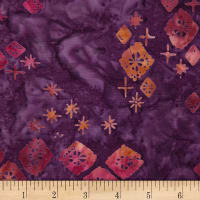 Northcott Banyan Batiks Tie One On Purple