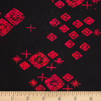 Northcott Banyan Batiks Tie One On Black
