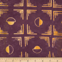 Northcott Banyan Batiks Tie One On Wine