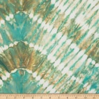 Northcott Banyan Batiks Shibori Teal Brown