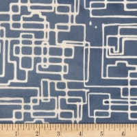 Banyan Batiks Codes And Circuits Blue