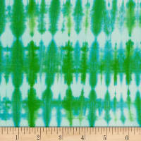 Northcott Banyan Batiks Love To Wear Shibori Green
