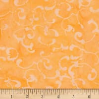 Northcott Banyan Batiks French Macaroon Orange