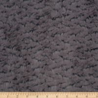 Shannon Minky Luxe Cuddle Ridge Pewter