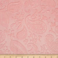 Shannon Minky Paisley Vine Embossed Cuddle Shell