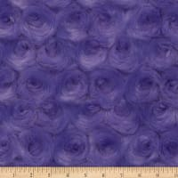 Shannon Minky Luxe Cuddle Rose Violet Tulip