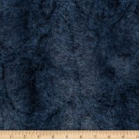 Shannon Minky Luxe Cuddle Heather Chambray