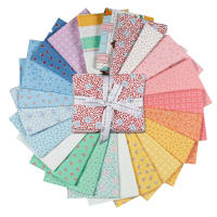 Kaufman Penny's Dollhouse Fat Quarter Bundles 15 Pcs Multi