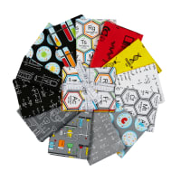 Kaufman Science Fair Fat Quarter Bundles 15 Pcs Multi