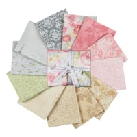 Kaufman Paris Romance Antique Fat Quarter Bundles 15 Pcs Multi