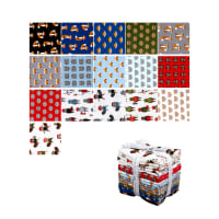 Kaufman Andie's Minis Fat Quarter Bundles 16 Pcs Multi