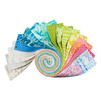 "Kaufman Marmalade Dreams 2.5"" Roll Ups 40 Pcs Multi"