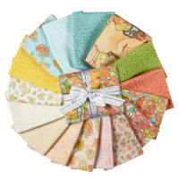 Kaufman Alphonse Mucha Fat Quarter Bundles 16 Pcs Multi