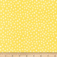 Robert Kaufman Penned Pals Flannel Yellow