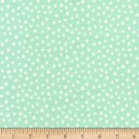 Robert Kaufman Penned Pals Flannel Mint