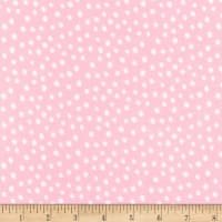 Robert Kaufman Penned Pals Flannel Baby Pink