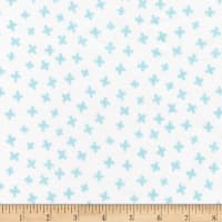 Robert Kaufman Penned Pals Flannel Blue