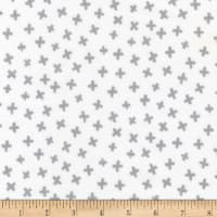 Robert Kaufman Penned Pals Flannel Grey