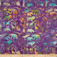 Island Batik Petting Zoo Jungle Animals Jelly