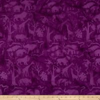 Island Batik Petting Zoo Jungle Animals Grape Juice