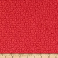 Stof Fabrics Denmark Gradiente Basic Flower Red