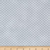 Stof Fabrics Denmark Gradiente Basic Flowers In Grid Grey
