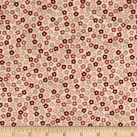 Stof Fabrics Denmark Hannah Basic Tiny Flowers Rose