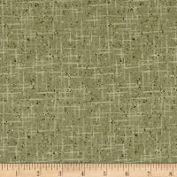 Stof Fabrics Denmark Hannah Basic Colord Dots & Lines Green