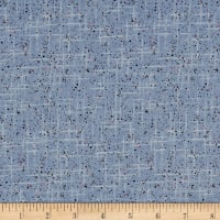 Stof Fabrics Denmark Hannah Basic Colord Dots & Lines Blue