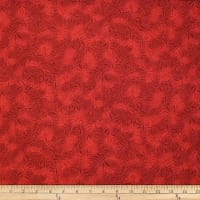 Trans-Pacific Textiles Asian Dragonfly Blender Red
