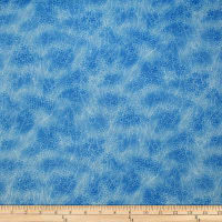 Trans-Pacific Textiles Asian Cherry Blossom Blender Blue