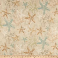 Susan Winget Coastal Living Starfish Basketweave Beige