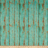 Susan Winget Coastal Living Coastal Garden Signs Wood Plank Basketweave Teal