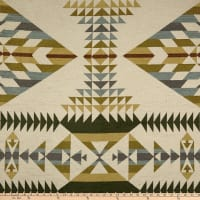 AMERICAN MADE Artistry Tribal Southwest Uzumati Chenille Spruce