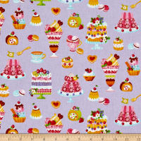Cosmo Sweet Shop Sweet Treats Sheeting Light Purple