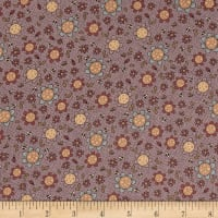 Lecien Sweet Garden Of Mine Floral Toss, Light Purple