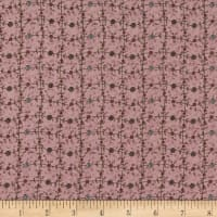 Lecien Sweet Garden Of Mine Floral Lattice, Light Purple