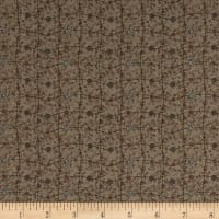 Lecien Sweet Garden Of Mine Floral Lattice, Dark Grey