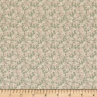 Lecien Woodland Rose Floral Vines Tan