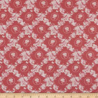 Lecien Woodland Rose Lattice Pink