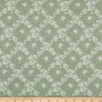 Lecien Woodland Rose Lattice Green