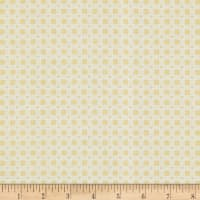 Lecien Woodland Rose Heart Checks Yellow