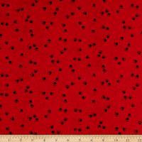 Epic Woof N' Whiskers Scattered Paw Prints Basic Red/Black